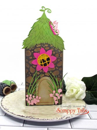 Scrappy Tails Fairy House Pop Up Card