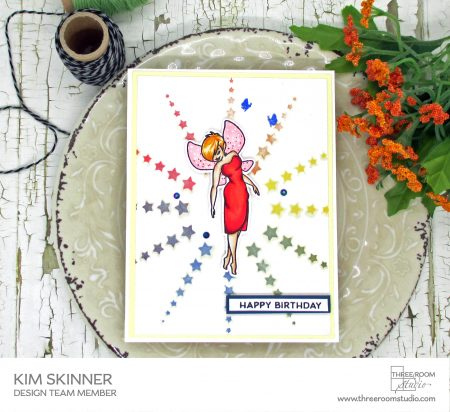 Saturday Challenge Festive Fairy Card