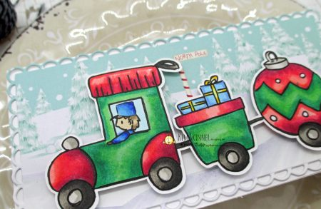 Mini Slimline Christmas Card