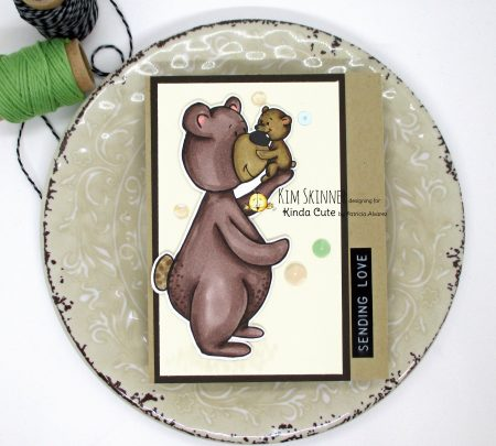 Papa Bear and Baby Kinda Cute by Patricia