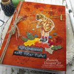 Autumn Journal With Mixed Media Details