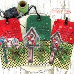 Scrappy Tails Crafts Traditional Christmas Tags + Labor Day Sale