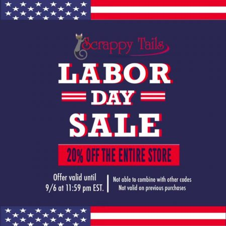 scrappy tails crafts labor day sale