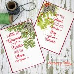 Scrappy Tails Crafts Assorted Christmas Leaves YouTube Hop + Giveaway!