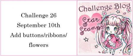 Star Stampz challenge Sept21
