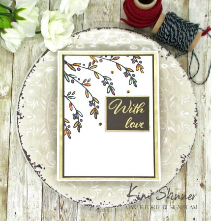 Wreathed in Flowers stamp set