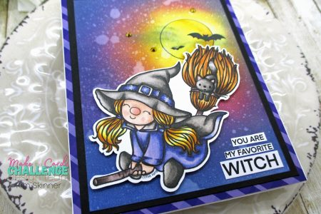 Connie Fong Witchy Broomstick Gnome